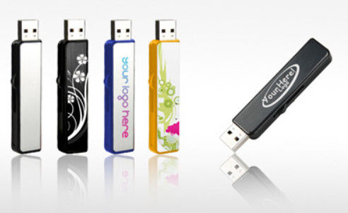 USB 2.0 USB 3.0 Plastic USB Stick / Waterproof Usb Flash Drive 3 Year Warranty